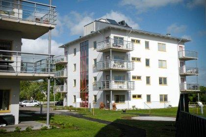 Passivhuset Lärtkrädet i Vara, levererat av Strängbetong.