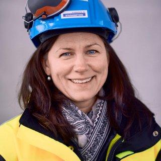 Therese Andersson är en av konstruktörerna och projekteringsledarna på Strängbetong.