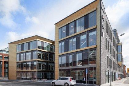 Strängbetong har levererat kontoreshuset Sirius i Malmö