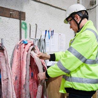 Att alla vertyg är hela och fungerar är en viktig del för att kuna utföra ett säkert jobb.