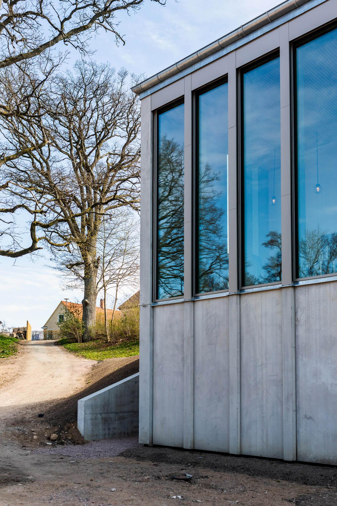 Andrum var det första spaprojektet för de flesta inblandade. Arkitekterna hade aldrig ritat något liknande tidigare, Strängbetong hade aldrig levererat till eller monterat ett spa förut och för Svenska kyrkan var det definitivt första gången.