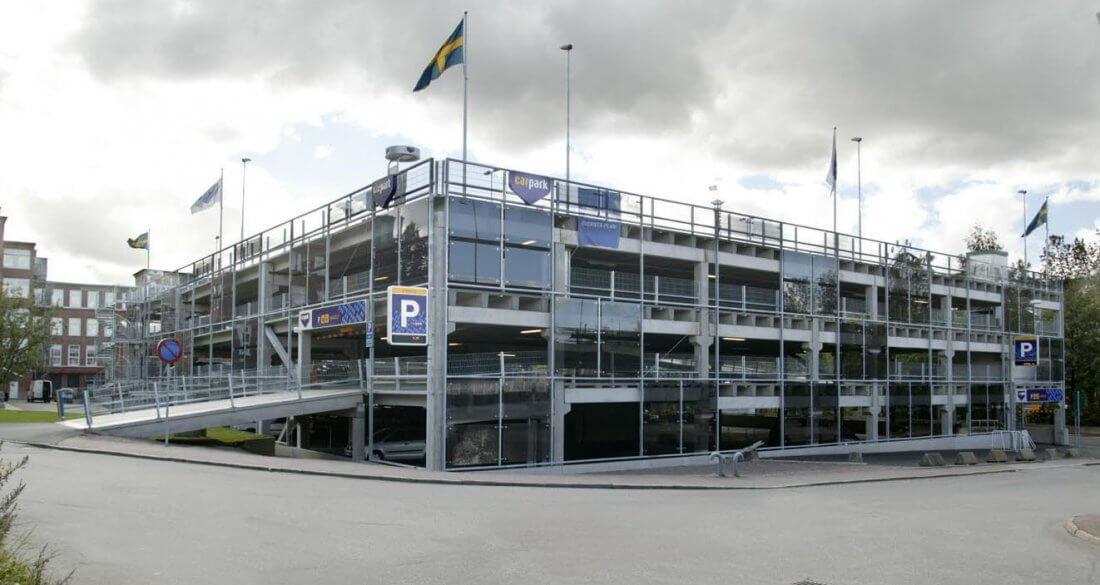 TempoDeck, ett koncept för parkeringshus från Strängbetong