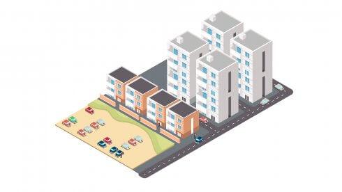 1970-1973, prefabtekniken utvecklas och flerfamiljsbostäder i Fittja byggs. Satsningen i norra Botkyrka är ett av de största inom miljonprogrammet. Strängbetong fick uppdraget att leverera väggelement, och förspända håldäck till 2 200 lägenheter.