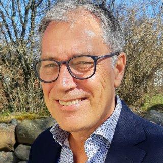 Bilden föreställer Anders Mattsson, teknisk chef på Strängbetong