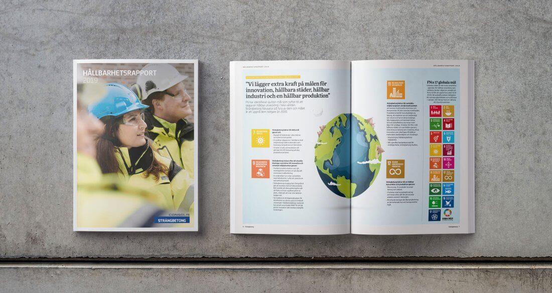 Strängbetongs Hållbarhetsrapport 2019
