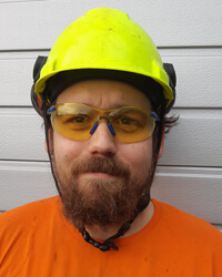 Jimmy är skyddsombud i Hudiksvall